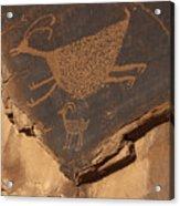 Mv Petroglyph 7364 Acrylic Print