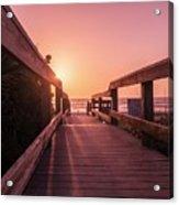 My Atlantic Dream -the Boardwalk  Acrylic Print
