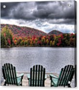 My Autumn View Acrylic Print