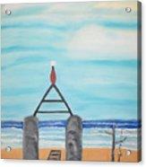 My Beach Acrylic Print