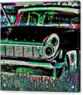 My Blackish Night Acrylic Print