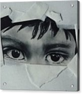 My Child's Eyes Acrylic Print