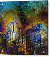 My City Providence Acrylic Print