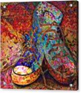 My Cool Sneakers Acrylic Print