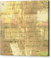 My Dear John Acrylic Print