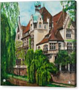 My Dream House Acrylic Print