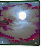 My Dream Moon Moonshine Sky Acrylic Print