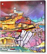 My Dream Place In Spain Acrylic Print