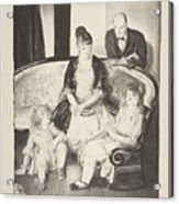 My Family, Second Stone George Bellows  Acrylic Print