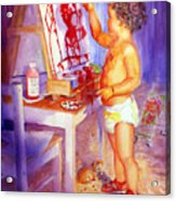 My Favorite Painter Acrylic Print