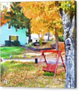 My Favorite Time Of Year Acrylic Print