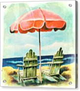My Favorite Secret Beach Spot Acrylic Print
