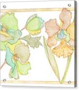 My Favourite Flowers Acrylic Print