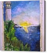 My First Light House Acrylic Print