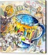 My First Memphis Mug Acrylic Print