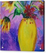 My Flowers Acrylic Print