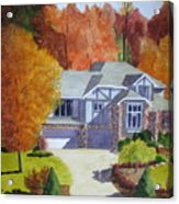 My Friend's House Acrylic Print