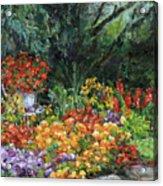 My Garden Acrylic Print
