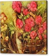 My Garden Of Roses Acrylic Print by Fatima Stamato
