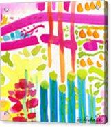 My Garden Path Acrylic Print