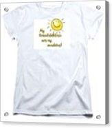 My Grand Childrent-shirt Acrylic Print