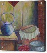 My Grandma's Kitchen Acrylic Print