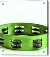 My Green Tambourine Acrylic Print