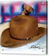 My Hat Acrylic Print