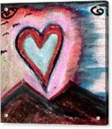 My Heart As The Sun Acrylic Print