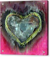 My Heavy Heart Acrylic Print