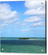 My Island In The Sand Acrylic Print
