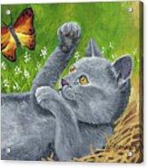 My Kitty Acrylic Print