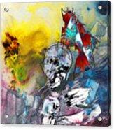 My Knight In Shining Armour Acrylic Print
