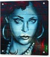 My Lady ... Acrylic Print