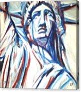 My Lady Liberty  Acrylic Print
