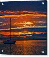 My Last Sunrise At 56 Acrylic Print