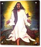 My Lord My Savior He Cometh Acrylic Print