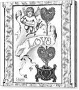 My Love Acrylic Print