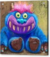 My Monster Friend Acrylic Print