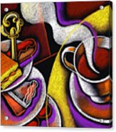 My Morning Coffee Acrylic Print