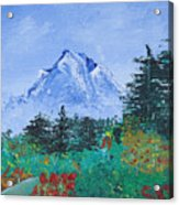 My Mountain Wonder Acrylic Print by Jera Sky