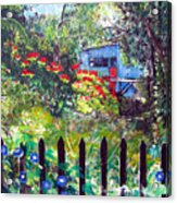 My Neighbors Garden Acrylic Print