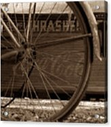 My Old Bike Acrylic Print