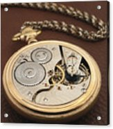 My Old Pocket Watch Acrylic Print