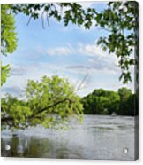 My Place By The River Acrylic Print
