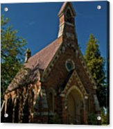 My Redeemer Lives Church Acrylic Print