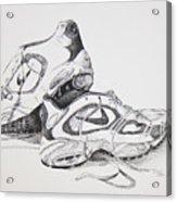 My Running Shoes Acrylic Print