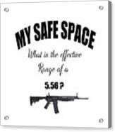 My Safe Space Acrylic Print