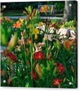 My Secret Garden-5 Acrylic Print