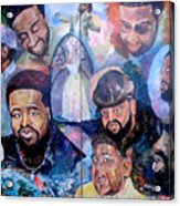 My Song Tribute To The Late Gerald Levert Acrylic Print